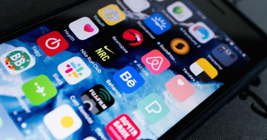 Chọn ứng dụng cờ bạc trên thiết bị di động